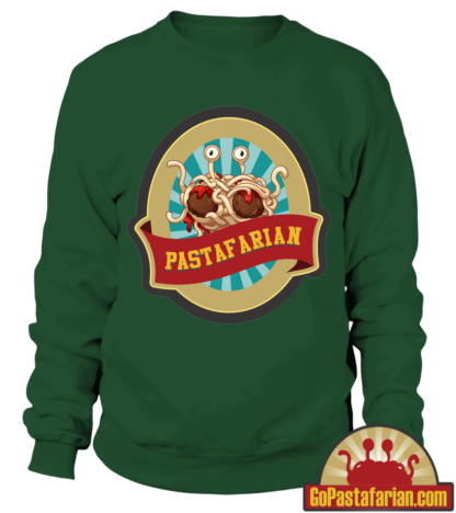 Church of Flying Spaghetti Monster   Pastafarian Sweaters