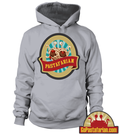 Church of Flying Spaghetti Monster   Pastafarian Hoodie