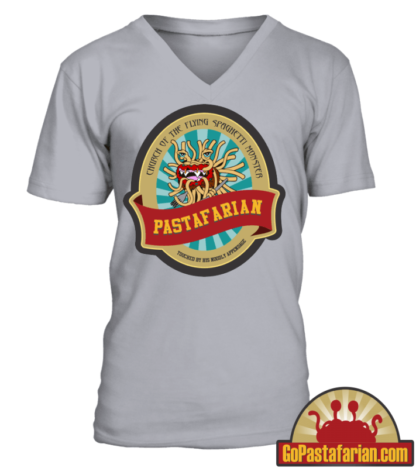 Church of the flying spaghetti monster   Funny Pastafarian T shirts