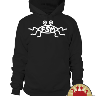 Flying Spaghetti Monster church symbol Pastafarian Sweater