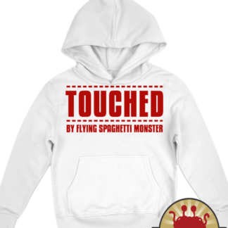 Church of Flying Spaghetti Monster   Pastafarian Kids Hoodie
